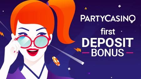 PartyCasino First Deposit Bonus